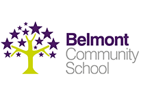 Belmont Community School logo